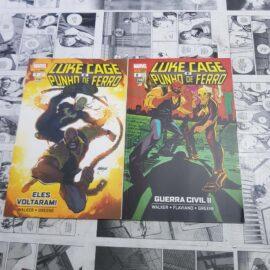Luke Cage e Punho de Ferro - Vol.1 e 2 (Lote #117)