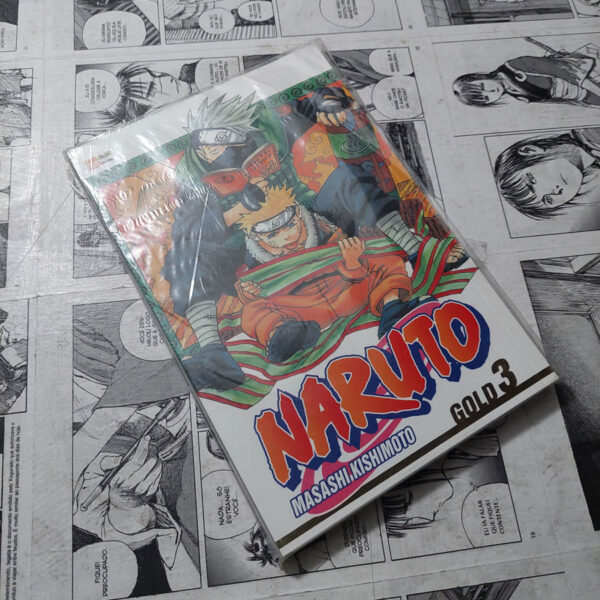Naruto Gold - Vol.3 (Lote #115)