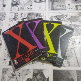 X - Vol.1 ao 4 (Lote #117)